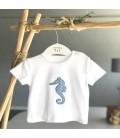 Valentina Bebés - Conjunto celeste camiseta y pantalón