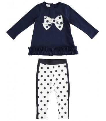 iDo by Miniconf - Conjunto legging y pullover para niña