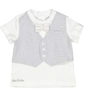 Birba - Camiseta chaleco para bebé