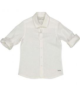 Trybeyond - Camisa beige para niño