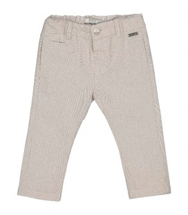 Birba - Pantalones beige para bebé