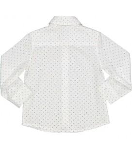 Birba - Camisa blanca para bebé