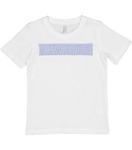 Trybeyond - Camiseta blanca relieve para niño