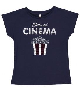 Trybeyond - Camiseta marino para niña