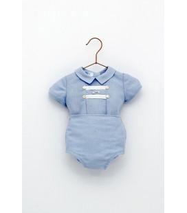 Foque - Conjunto celeste para bebé