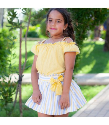 DBB Collection - Conjunto amarillo para niña
