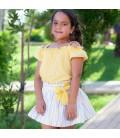 DBB Collection - Conjunto amarillo para niña