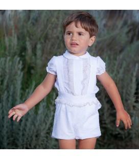 DBB Collection - Conjunto blanco para bebé