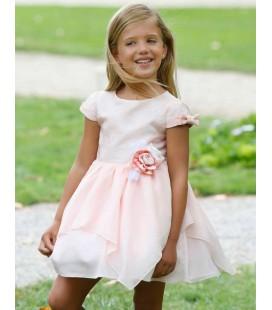 Maalula - Vestido rosa para niña