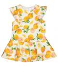 Birba - Vestido naranjas para bebé