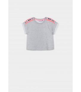 Tiffosi - Camiseta Rosie gris para niña