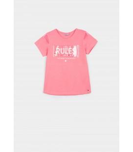 Tiffosi - Camiseta Alexa rosa fluor para niña