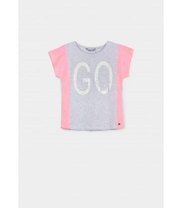 Tiffosi - Camiseta Zaza gris para niña