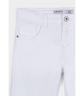 Tiffosi - Pantalones Blake_K289 blancos para niña