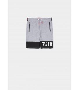 Tiffosi - Bermuda Millard gris para niño