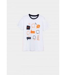 Tiffosi - Camiseta Richard blanca para niño