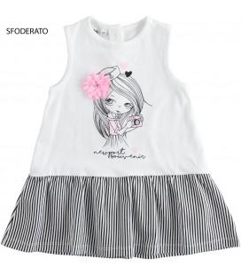 iDo by Miniconf - Vestido blanco para niña