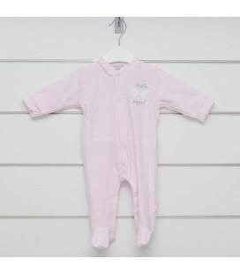 Pelele Angel rosa para bebé de Calamaro