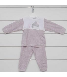 Calamaro - Pijama Sweet Winter Rosa para bebé