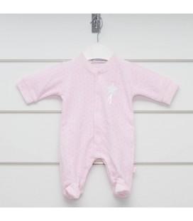 Calamaro - Pelele  Estrella rosa para bebé