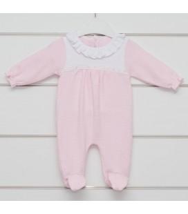 Calamaro - Pelele Onega rosa para bebé