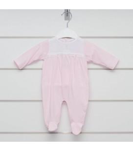 Pelele Somme rosa de Calamaro Bebé
