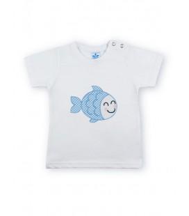 SARDON - Camiseta Pez para bebé