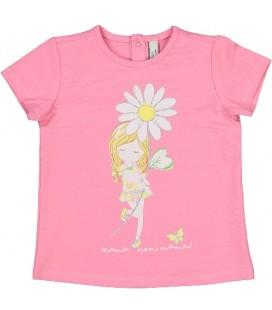 Birba - Camiseta margarita para bebé