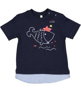 Birba - Camiseta marino para bebé