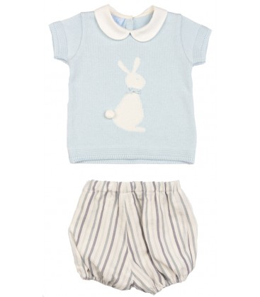 Granlei - Conjunto bombacho y jersey para bebé
