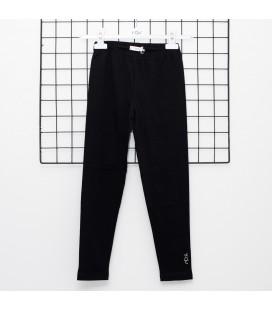 Y-Clu - Leggings negros para niña