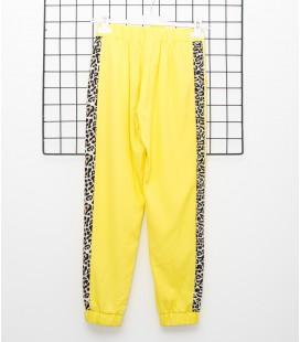 Y-Clu - Pantalón amarillo para niña