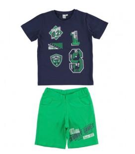 iDo by Miniconf - Conjunto azul y verde para niño