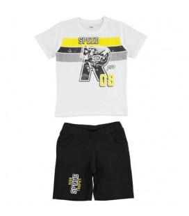 iDo by Miniconf - Conjunto blanco y negro para niño