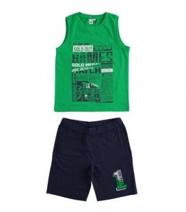 iDo by Miniconf - Conjunto tirantes verde y azul para niño