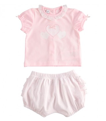 iDo by Miniconf - Conjunto rosa para bebé