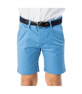 Spagnolo - Bermuda básica azul para niño