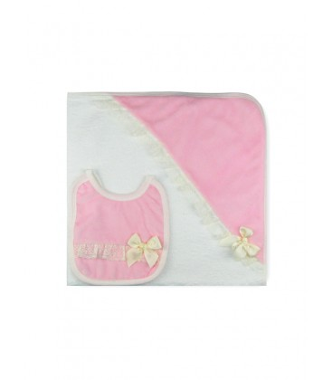 SARDON - Conjunto capa + babero para bebé