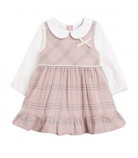 Newness - Vestido cuadros para bebé