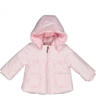 Birba - Abrigo rosa para bebé