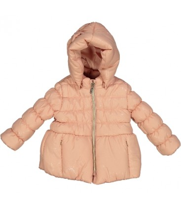 Birba - Parka rosa para bebé