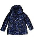 Trybeyond - Acolchado azul metalizado para niña