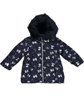 Birba - Abrigo azul marino para bebé