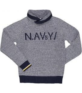 Trybeyond - Jersey azul marino para niño