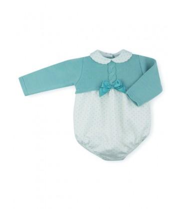 SARDON - Pelele verde Lula para bebé