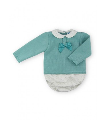 SARDON - Conjunto verde Lula para bebé