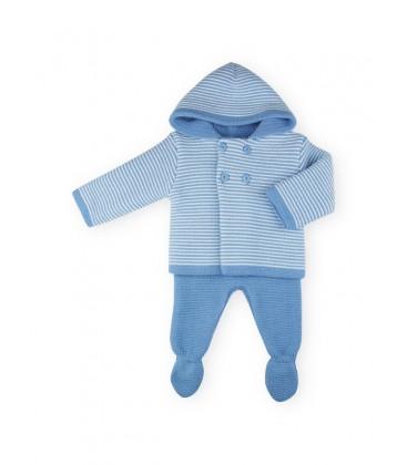 SARDON - Sanfrancisco Nina azulado para bebé