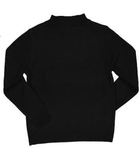 Trybeyond - Jersey negro para niño