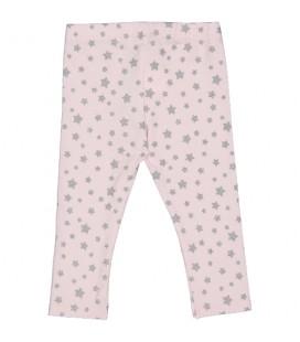 Birba - Legging rosa corazones para bebé