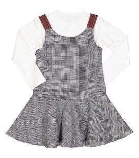 Trybeyond - Vestido cuadros para niña